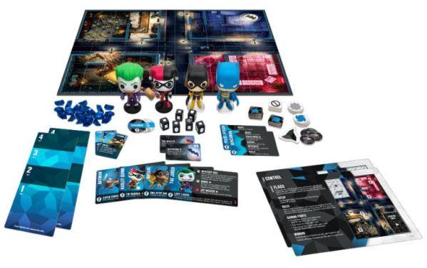 DC Comics Funkoverse társasjáték 4 Character Base Set *English Version*