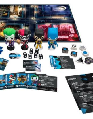DC Comics Funkoverse társasjáték 4 Character Base Set *English Version*