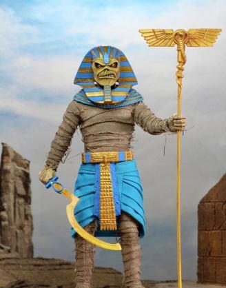 Iron Maiden Retro Akciófigura - Pharaoh Eddie 20 cm