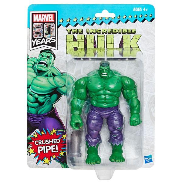 x_hase5795 Marvel Legends 80th Anniversary Akciófigura Retro Hulk SDCC 2019 Exclusive 15 cm