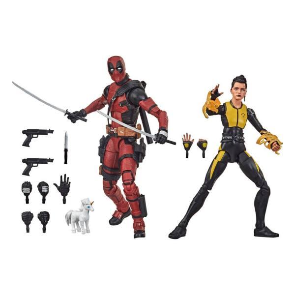 Deadpool Legends Series Akciófigura 2020 - Deadpool & Negasonic Teenage Warhead 15 cm