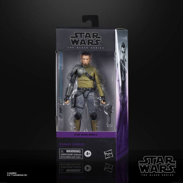 Star Wars Rebels Black Series Akciófigura - Kanan Jarrus 15 cm