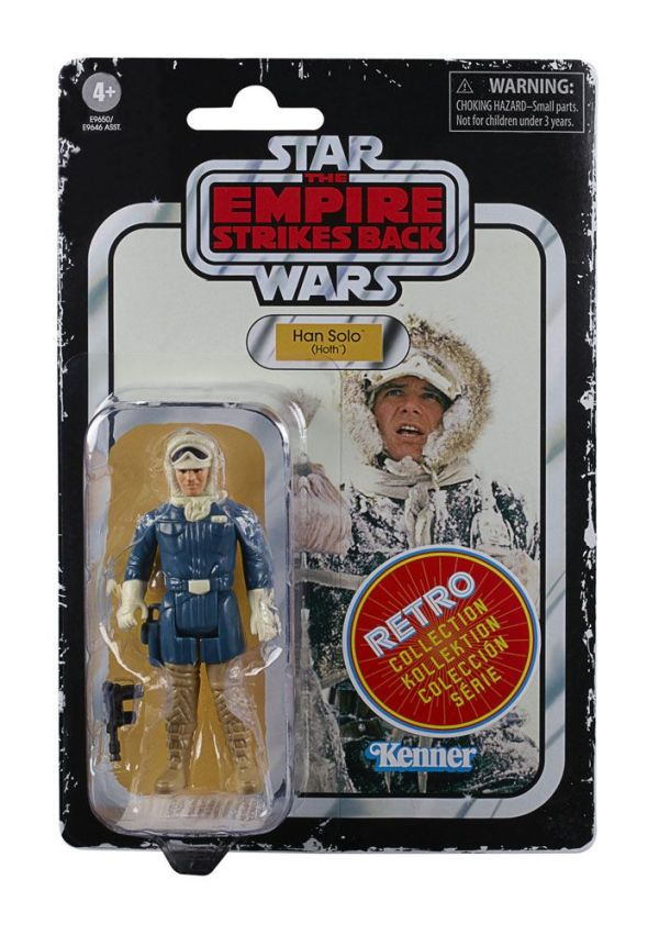 x_hase9646eu40_e Star Wars Episode V Retro Collection Akciófigura 2020 - Han Solo (Hoth) 10 cm