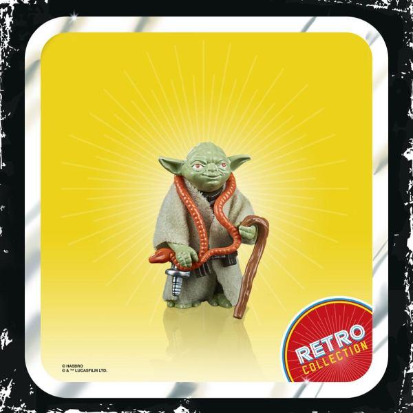 Star Wars Episode V Retro Collection Akciófigura 2020 - Yoda 10 cm