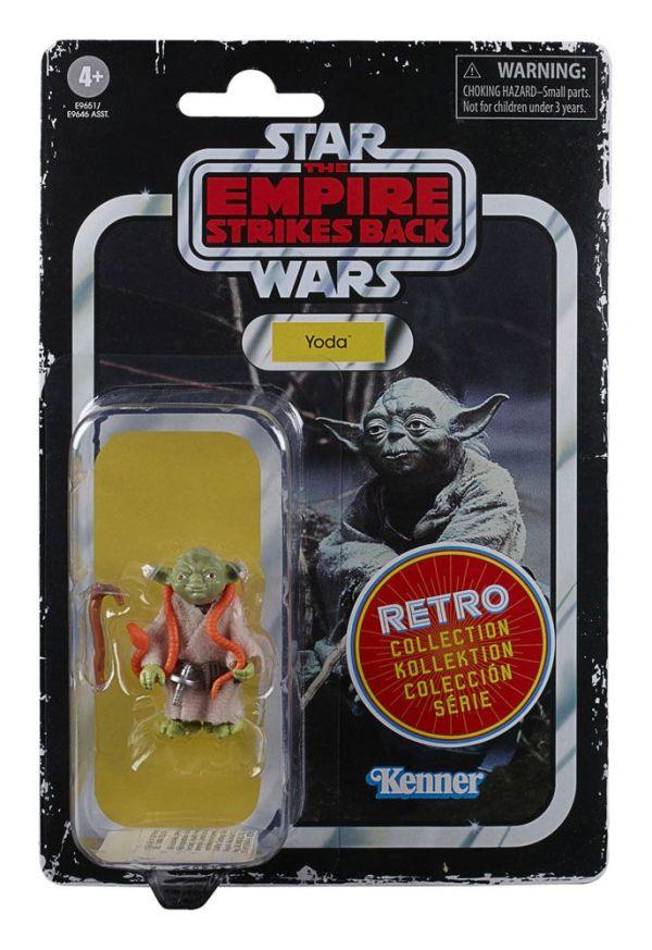 x_hase9646eu40_h Star Wars Episode V Retro Collection Akciófigura 2020 - Yoda 10 cm
