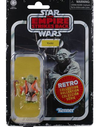 x_hase9646eu40_h Star Wars Episode V Retro Collection Akciófigura 2020 - Yoda 10 cm
