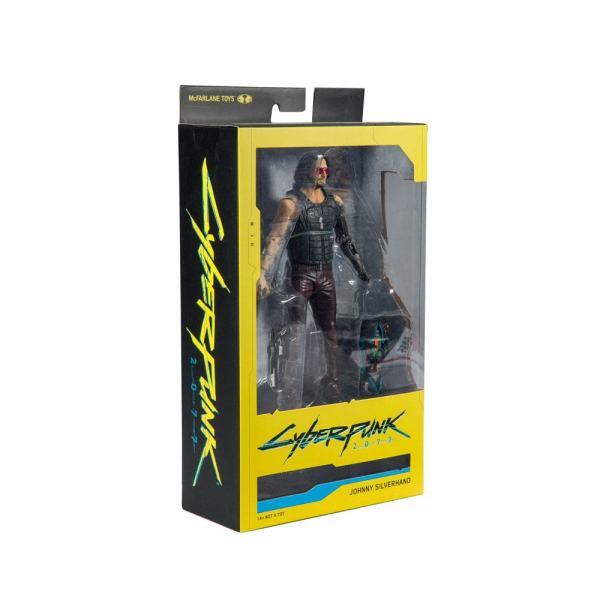 x_mcf13504-6 Cyberpunk 2077 Akciófigura - Johnny Silverhand Variant 18 cm