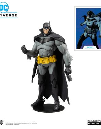 x_mcf15406-1 DC Multiverse Akciófigura - White Knight Batman 18 cm