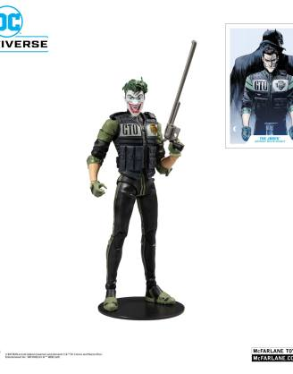 DC Multiverse Action Figure White Knight Joker 18 cm