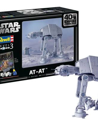 x_rev05680 Star Wars Model Kit - 1/53 AT-AT - 40th Anniversary 38 cm