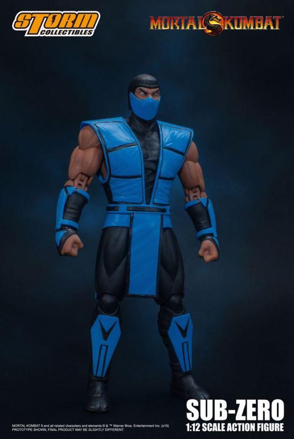 Mortal Kombat Akciófigura - 1/12 Sub-Zero 16 cm