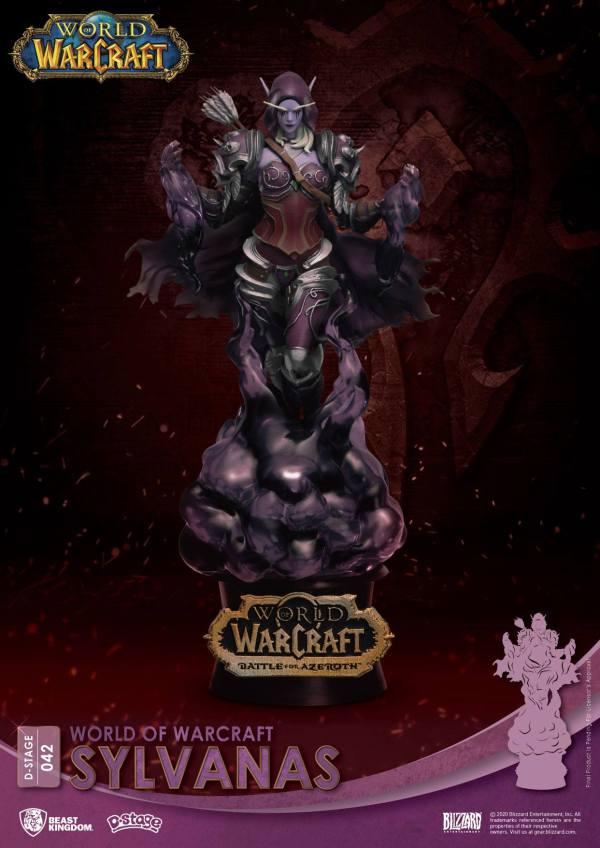 World Of Warcraft D-Stage PVC Diorama Sylvanas 16 cm