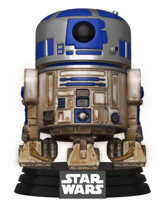 Star Wars Funko POP! Movies Vinyl Figura - Dagobah R2-D2 9 cm
