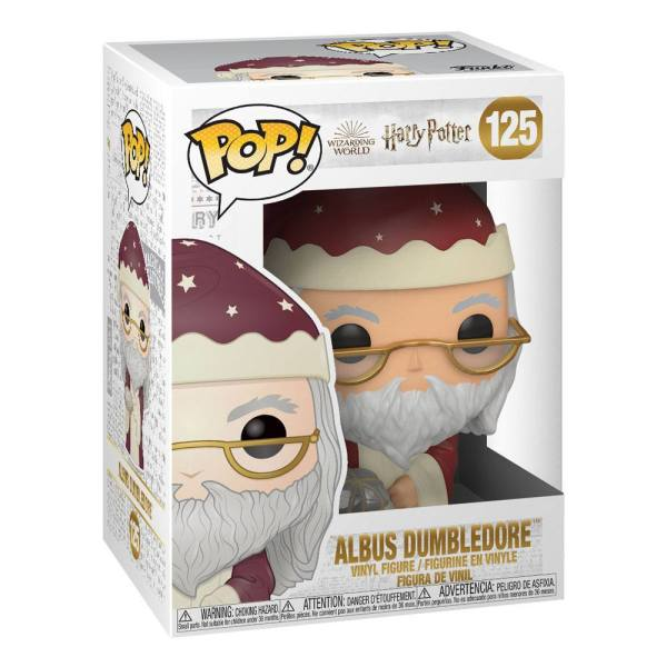 x_fk51155 Harry Potter POP! Vinyl Figure Holiday Albus Dumbledore 9 cm