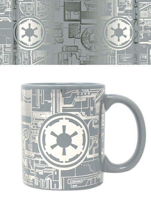 Star Wars Foil bögre - Death Star Surface