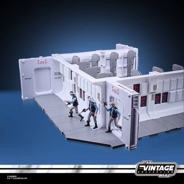 Star Wars Episode V Vintage Collection Tantive IV Hallway with Rebel Fleet Trooper Figure 10 cm - HASF0584