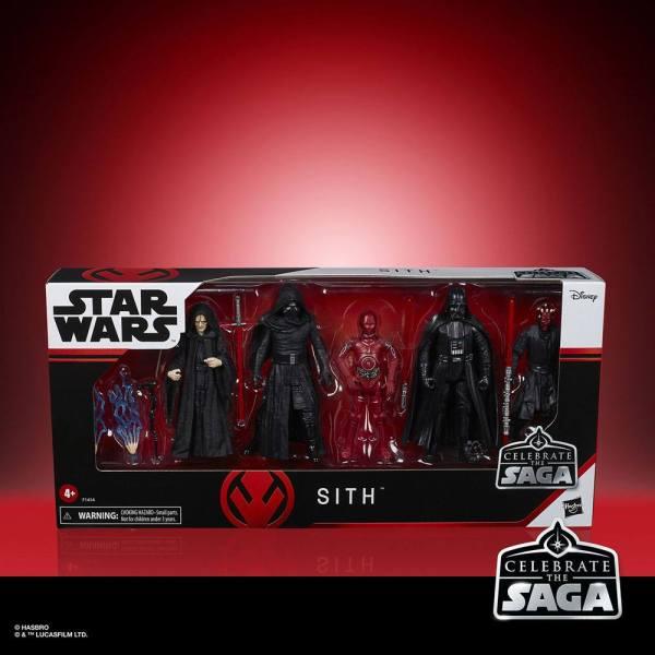 x_hasf1414 Star Wars Celebrate the Saga Akciófigura 5-Pack - Sith 10 cm