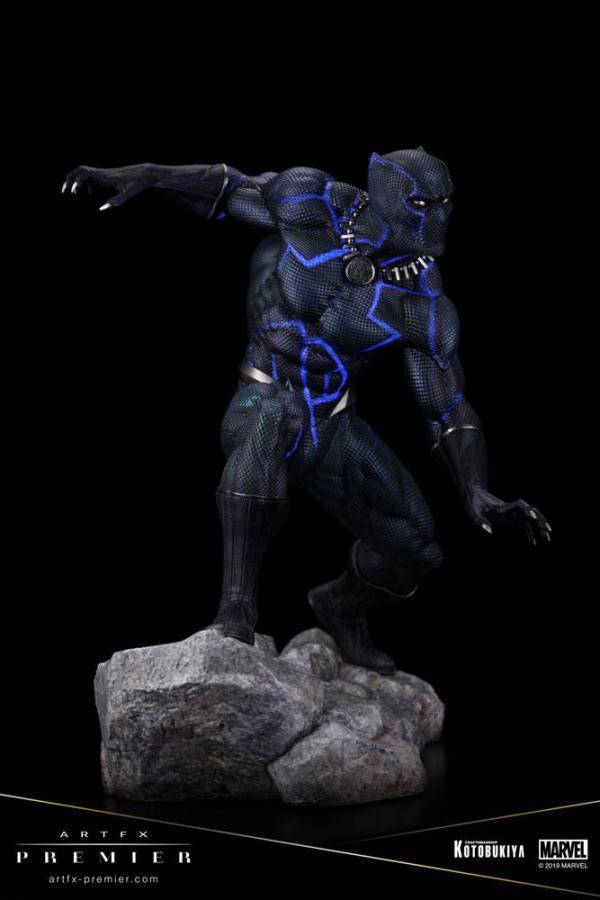 x_ktomk285 Marvel Universe ARTFX Premier PVC Statue 1/10 Black Panther GITD 16 cm