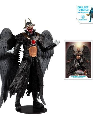 DC Multiverse Build A Akciófigura - Batman Who Laughs (Hawkman #18 (2019) 18 cm