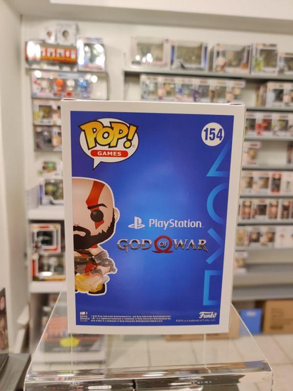 God of War Funko POP! Figura - Kratos w/ Blades (GITD - Exclusive)