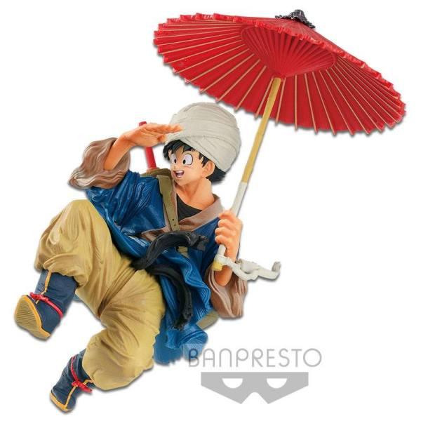 x_banpbp16447p Dragon Ball Z BWFC PVC Szobor - Son Goku Normal Color Ver. 18 cm