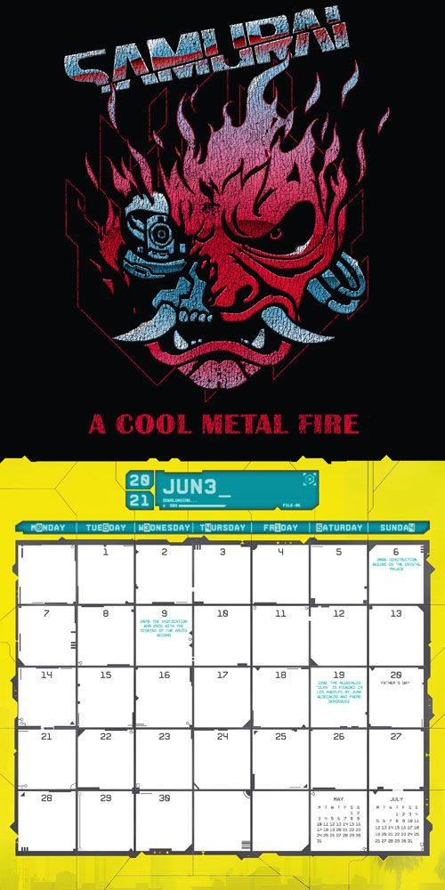 x_dani2021-29921 Cyberpunk 2077 Calendar 2021 *English Version*