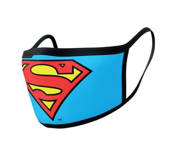 x_gp85559 Superman Arcmaszk - 2db-os