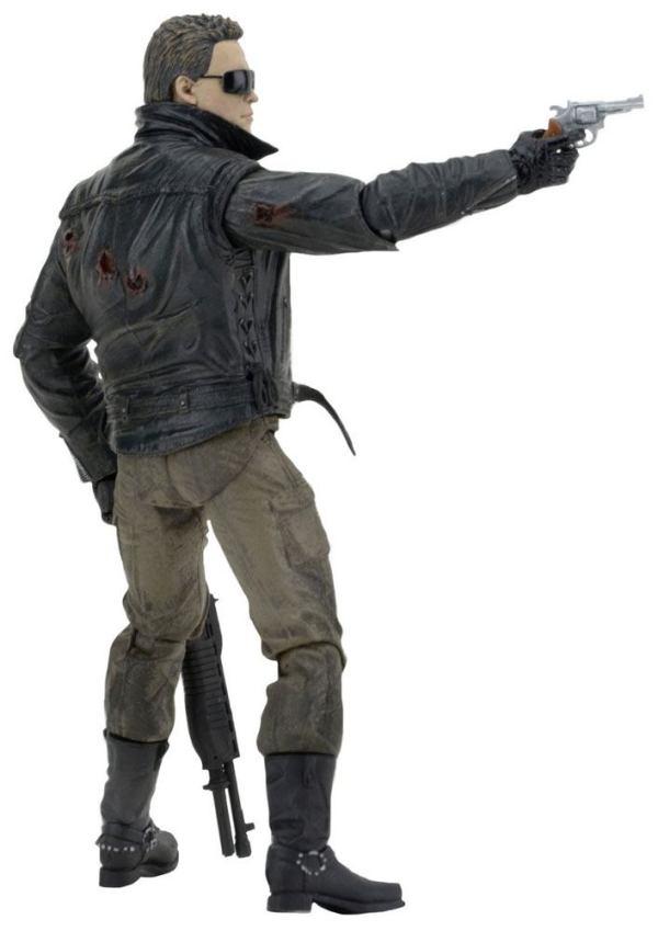 x_neca51912 Terminator Akciófigura - Ultimate Police Station Assault T-800 (Motorcycle Jacket) 18 cm