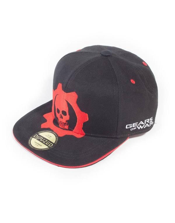 x_sb862585gw5 Gears Of War Baseball sapka - Red Helmet