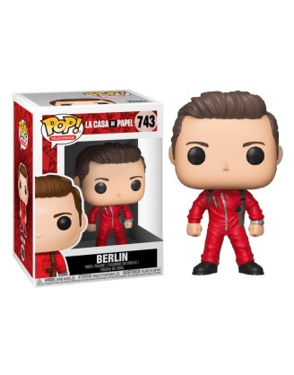 Money Heist Funko POP! TV Vinyl Figura - Berlin 9 cm