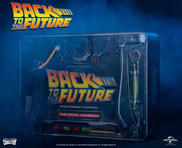 Back To The Future Time Travel Memories Kit Plutonium Edition