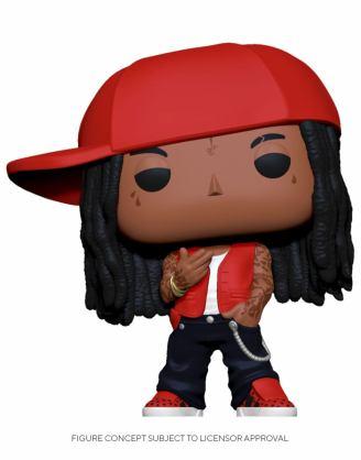 Lil Wayne Funko POP! Rocks Vinyl Figura 9 cm