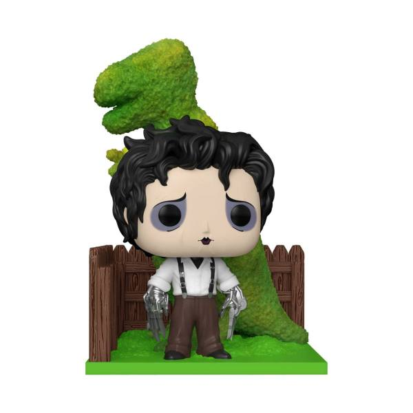 Edward Scissorhands POP! Deluxe Figura - Edward & Dino Hedge 9 cm - fk50274