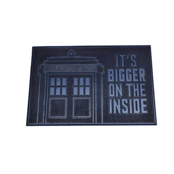 Doctor Who gumi lábtörlő - Tardis 40 x 60 cm