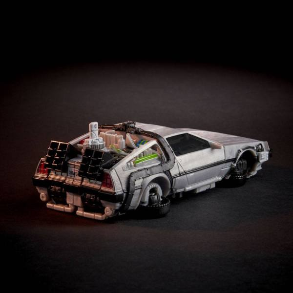 x_hase8545 Transformers x Back to the Future Akciófigura - Delorean 14 cm