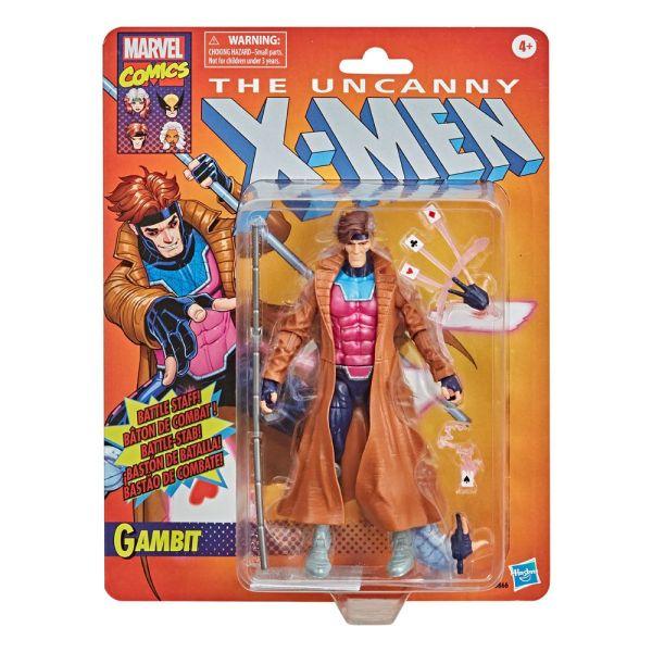 x_hasf0866 The Uncanny X-Men Marvel Retro Collection Action Figure Gambit 15 cm