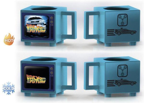 Back To The Future - Flux Capacitor hőre változós bögre