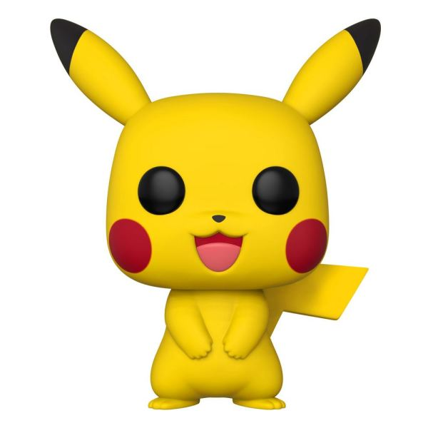Pokemon Super Sized Funko POP! Games Vinyl Figura - Pikachu 25 cm