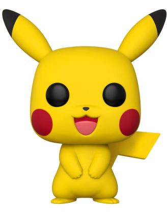 Pokemon Super Sized Funko POP! Games Vinyl Figura - Pikachu 25 cm