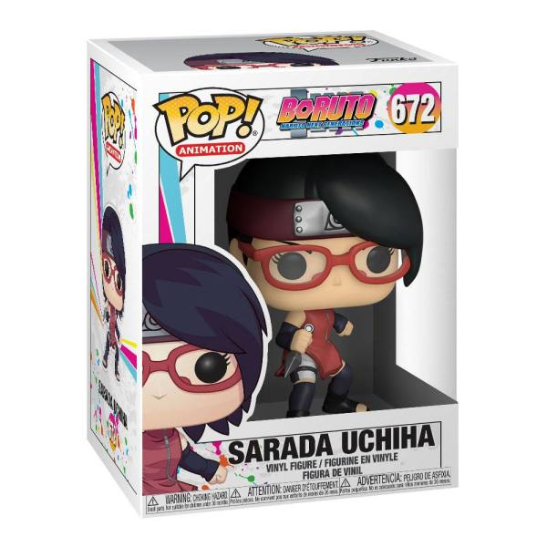Boruto: Naruto Next Generations POP! Animation Vinyl Figure Sarada Uchiha 9 cm