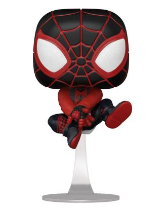 Marvel's Spider-Man POP! Games Vinyl Figure Miles Morales Bodega Suit 9 cm - fk50152_a
