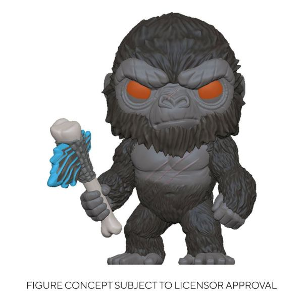 Godzilla Vs Kong POP! Movies Vinyl Figure King Kong with Axe 9 cm-fk50953