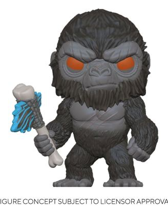 Godzilla Vs Kong POP! Movies Vinyl Figure King Kong with Axe 9 cm-fk50953