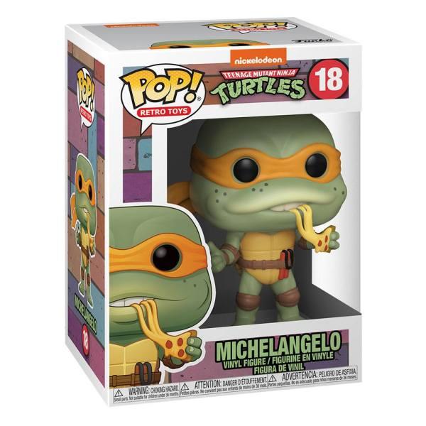x_fk51433 Teenage Mutant Ninja Turtles Funko POP! TV Vinyl Figura - Michelangelo 9 cm