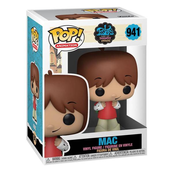 Foster's Home for Imaginary Friends POP! Television Vinyl Figure Mac 9 cm-fk51644