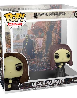 x_fk53077 Black Sabbath Funko POP! Albums Vinyl Figura - Black Sabbath 9 cm