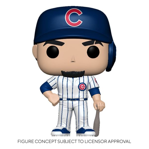 MLB POP! Sports Vinyl Figure Cubs - Javier Báez (Home Uniform) 9 cm - fk54643