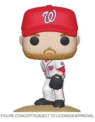 MLB POP! Sports Vinyl Figure Nationals - Stephen Strasburg (Home Uniform) 9 cm - fk54645