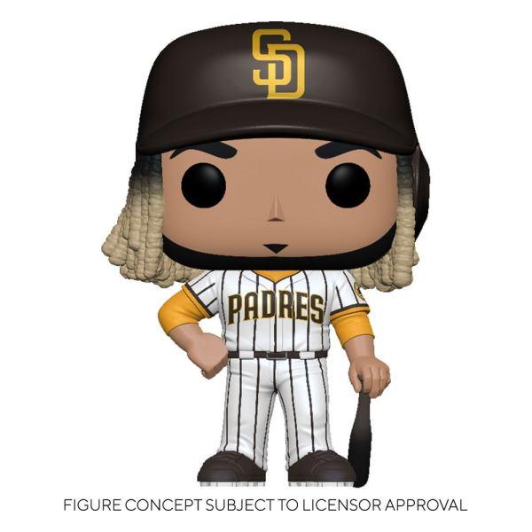 MLB POP! Sports Vinyl Figure Padres - Fernando Tatís Jr. (Home Uniform) 9 cm - fk54646