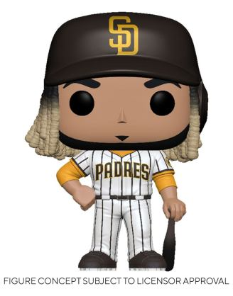 MLB POP! Sports Vinyl Figure Padres - Fernando Tatís Jr. (Home Uniform) 9 cm - fk54646